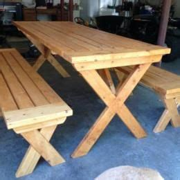 how to make picnic bench free diy furniture plans to build a potterybarn inspired chesapeake picnic bench for under 25