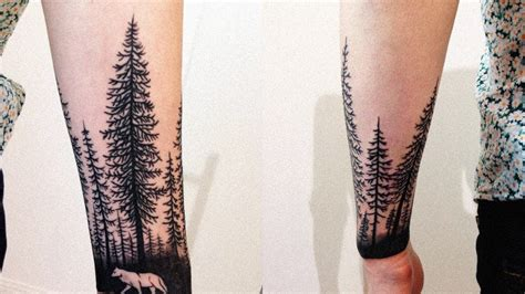 forest tattoo forearm forest forearm ideas slide
