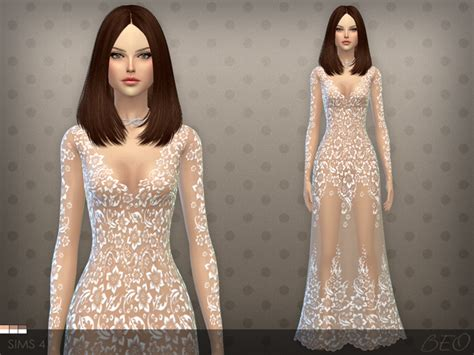 dresses sims 4 download my sims 4 blog sheer dress by beo