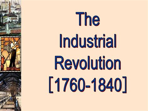 industrial revolution powerpoint template the industrial revolution presentation