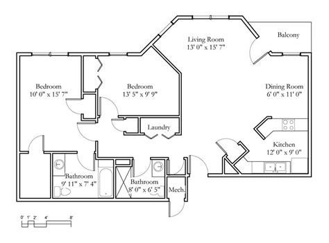 Sample Floor Plan by Sample Floor Plans Meadowlark Hills Continuing Care