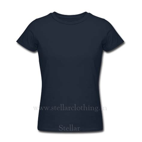 Customized T Shirts India 100 Cotton Custom T Shirts Navy Stellar Clothing