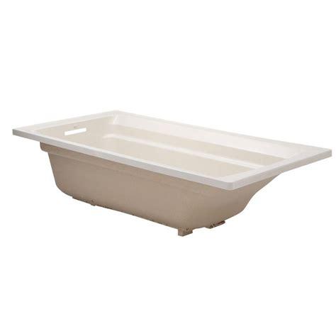 What Is A Reversible Drain Bathtub by Kohler Archer 6 Ft Reversible Drain Acrylic Soaking Tub