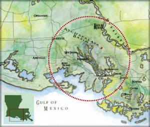 Louisiana Bayou Map by Gallery For Gt Atchafalaya Basin Map