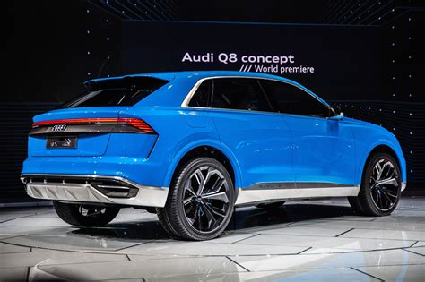 Comfortable by Audi Q8 Concept