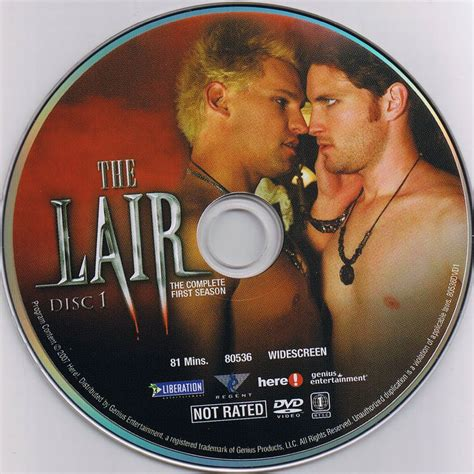 the lair the lair season 1 scanned dvd labels the lair season 1 cd1 dvd covers