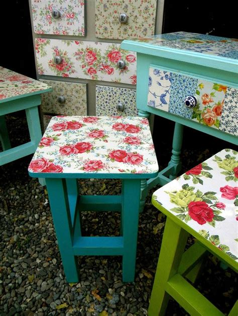 Vintage Decoupage Furniture - the 25 best decoupage chair ideas on painted