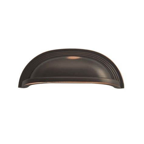 cabinet cup pulls oil rubbed bronze hickory hardware deco 96 mm oil rubbed bronze cup pull
