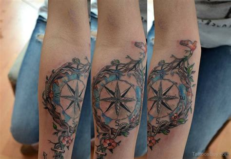 compass tattoo on elbow compass tattoos tattoo designs tattoo pictures page 14
