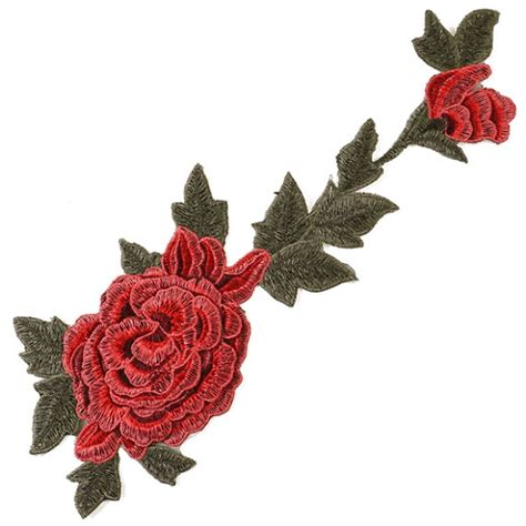 applique iron on embroidered floral iron on applique patch joyce