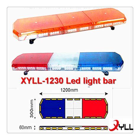 blue emergency led light bar ambulance light bar lights included