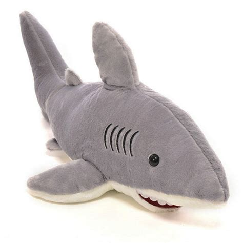 shark plush aliexpress buy 1 pc creative stuffed dolls soft plush marine animal gray shark plush