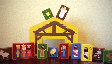 Knife Blocks diy nativity blocks happiness is homemade