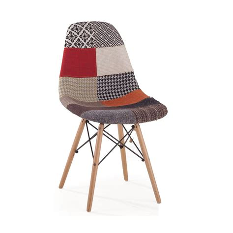 Patchwork Dining Chairs - replica eames dsw patchwork dining chair