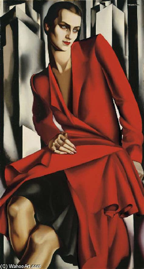 tamara de lempicka art portrait de mrs bush oil by tamara de lempicka 1898