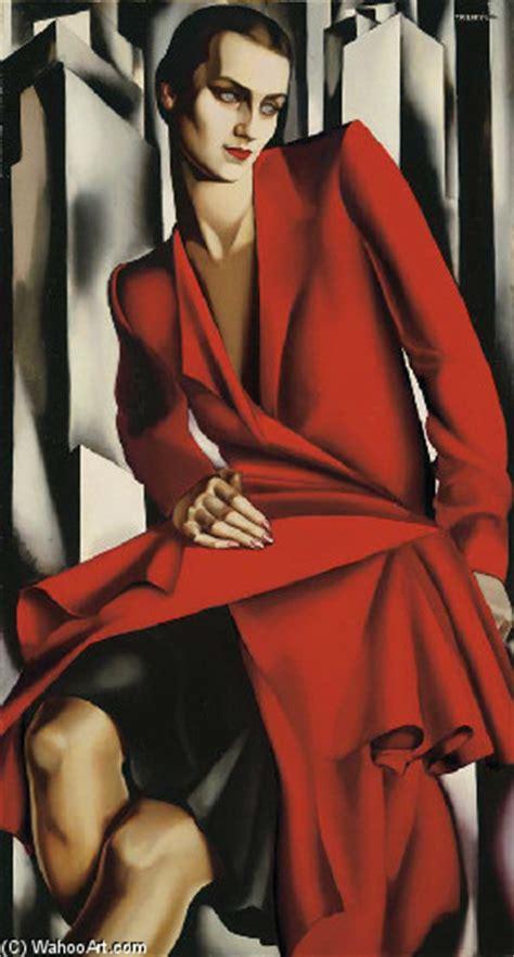 tamara de lempicka art portrait de mrs bush oil by tamara de lempicka 1898 1980 russia