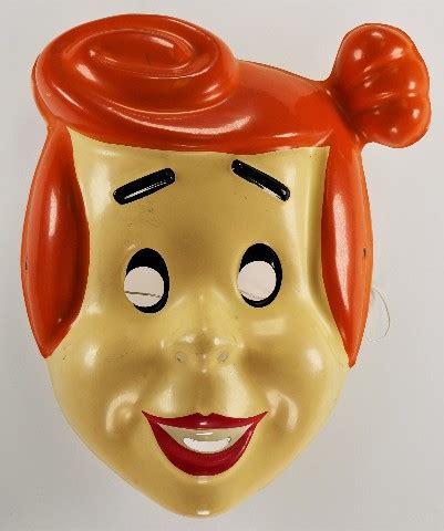 vintage  flintstones wilma flintstone halloween mask
