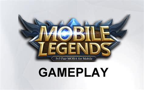 mobile legend logo gameplay mobile legends 2018 mobile legends