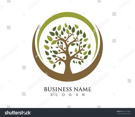 Family Tree Logo Template Vector Icon Stock Vector 546313405 Shutterstock Stock Vector Family Tree Template With Portraits Of Relatives And Place For Text On Green