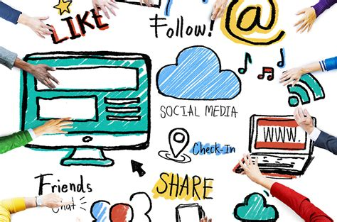 imagenes de redes sociales populares presencia en redes sociales
