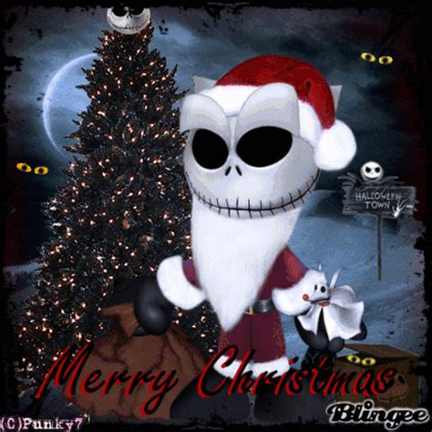 merry christmas goth picture  blingeecom
