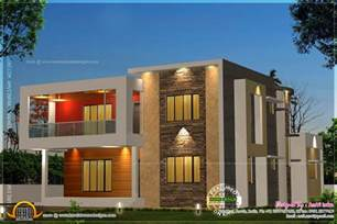 House Plans Contemporary by 5 Bedroom Contemporary House With Plan Indian House Plans