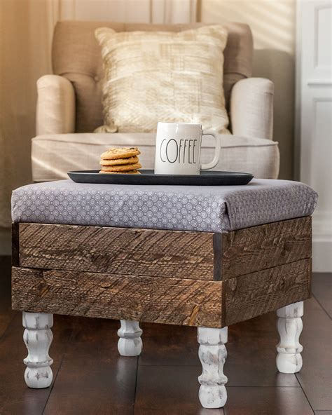 make your own storage ottoman this beautiful diy storage ottoman will make you want to
