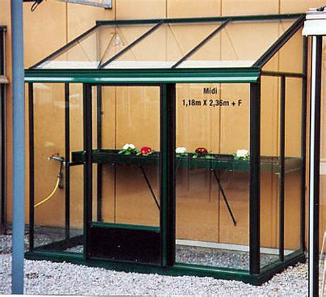 Incroyable Mini Serres De Jardin #1: serre-verre-adossée-midi-agrandissement.jpg
