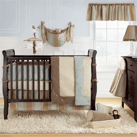 Blue Crib Bedding For Boys by Unobnoxious Boys Crib Bedding Set Brown And Baby