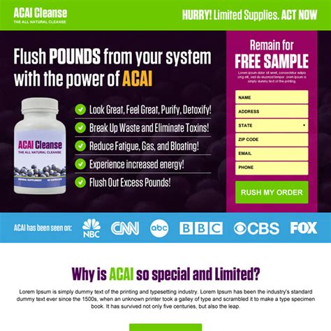 best weight loss product responsive weight loss landing page design templates to