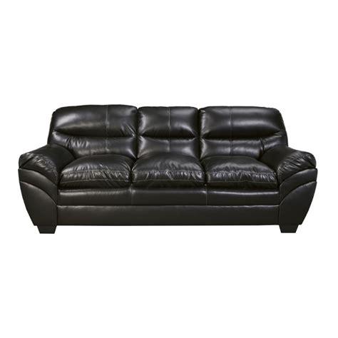 Durablend Leather Sofa Tassler Durablend Leather Sofa In Black 4650138