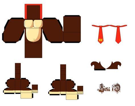 Kong Papercraft - dk by zienaxd on deviantart