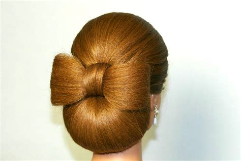 Hairstyle Hair by Updo Hairstyle For Hair Hair Bow Tutorial