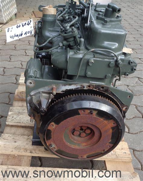 Gebrauchte 5 Ps Motoren by Dieselmotor Yanmar 3t72sa 18 5ps 879ccm Gebraucht Ebay