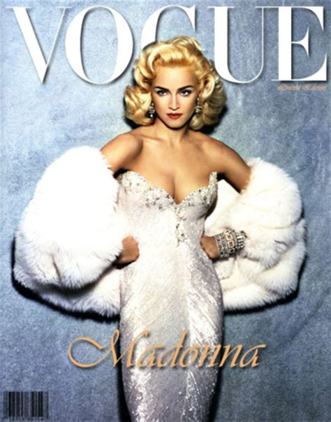 madonna in a fur coat madonna images vogue wallpaper and background photos