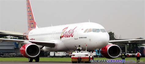 Batik Air Rute Internasional | batik air buka rute penerbangan internasional dari bandara