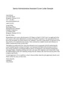 Cover Letter For Admin by Cover Letter Best Administrative Assistant Cover Letter