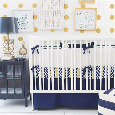 gold baby bedding navy and gold baby bedding navy baby bedding baby bedding navy and gold chevron