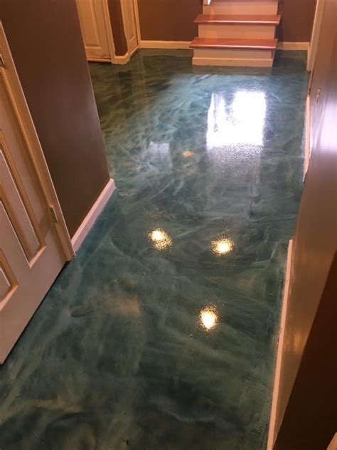 Basement Floor Epoxy Coating Services in Maryland & Virginia
