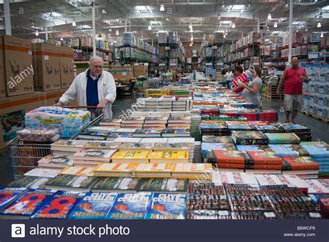 costco picture books customers looking at books costco warehouse usa stock