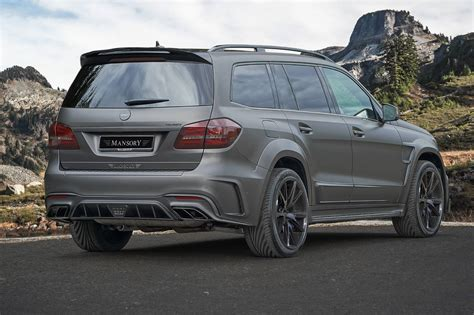 mansory mercedes official 840hp mercedes amg gls 63 by mansory gtspirit