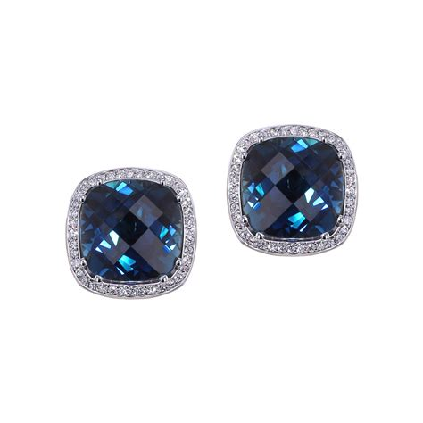 Blue Topaz For blue topaz earrings jewelry designs