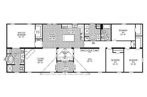 manufactured home floor plan clayton 4 bedroom 2 bath