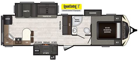 sprinter travel trailer floor plans keystone rv sprinter limited travel trailer floorplans