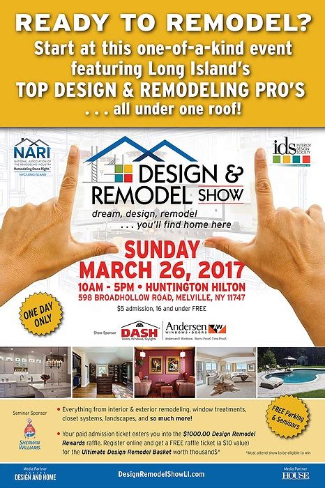 home design and remodeling show tickets design remodel show nari ids