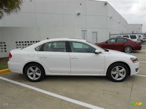 Candy White 2012 Volkswagen Passat Tdi Se Exterior Photo