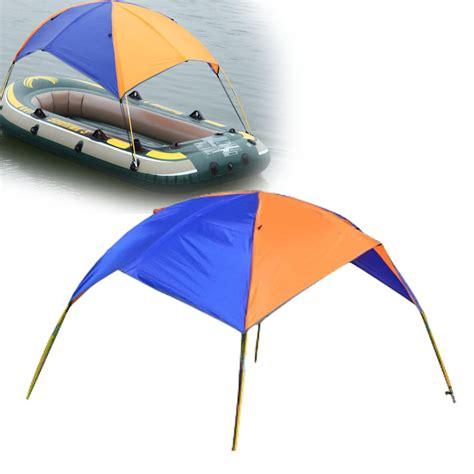 Sailboat Awning Sunshade by 2 3 Person Pvc Boat Sun Shelter Awning Sun