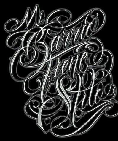 chicano lettering graffiti alphabet wildstyle chicano