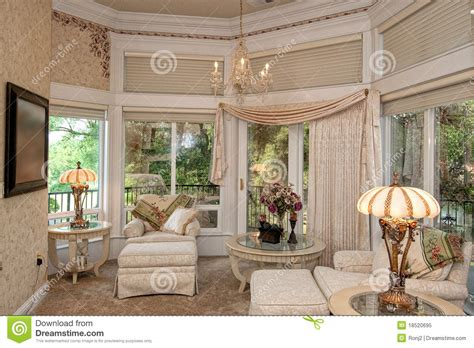 sitting area in master bedroom master bedroom sitting area royalty free stock photo image 18520695