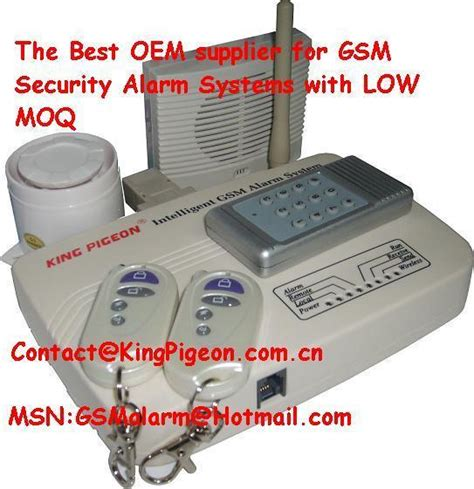 gsm alarm system with lcd king pigeon s3524a king pigeon